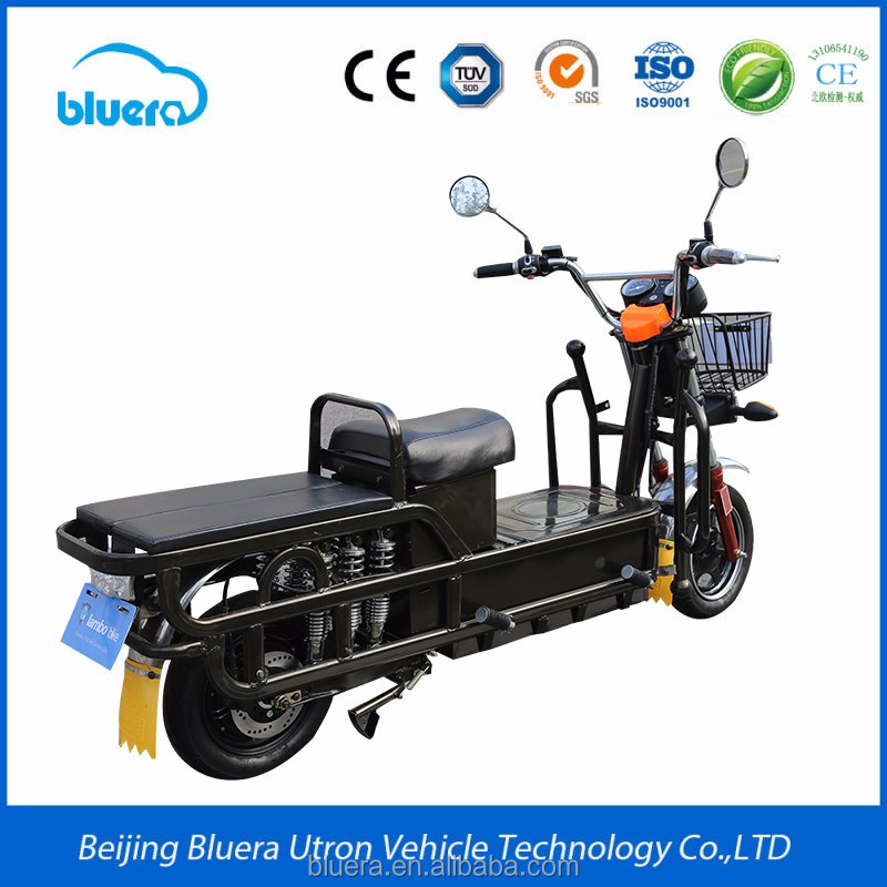 Bluera Titan D1 2016 Two Seat Electric Motor Bike with Front Wheel for Sale