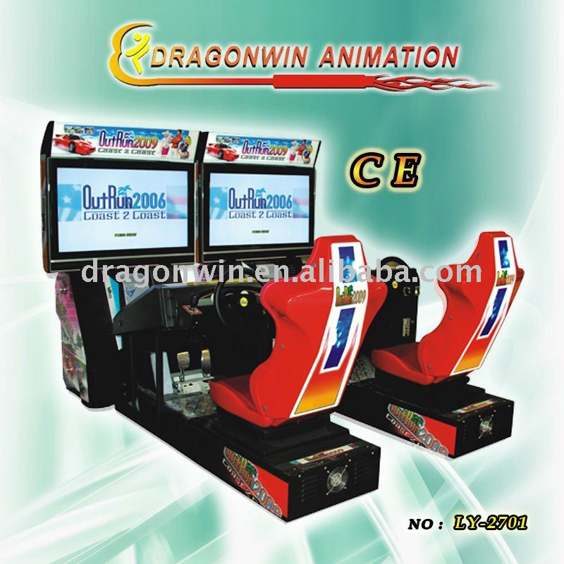 OutRun amusement game machine car driving big machine games
