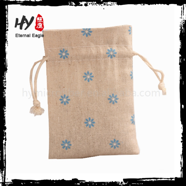 Brand new drawstring canvas shoe bag made in China