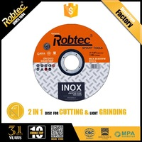 ROBTEC Cutting Cut off disc for Inox