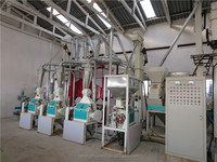 corn grits mill/low price flour mill plant