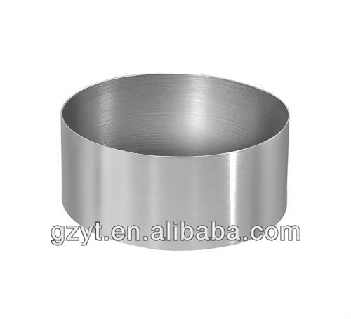 Round Stainless Steel Cake mould Chocolate Mould Mousse Ring