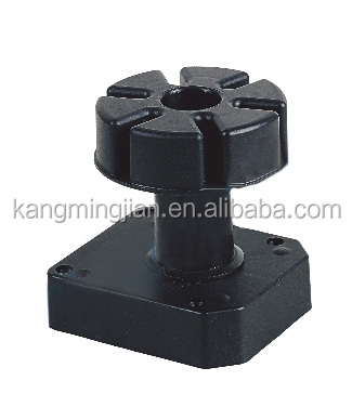 90-130mm plastic adjustable kitchen cabinet leg/leveling feet