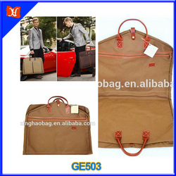 canvas tote bag garment bag suit cover bag