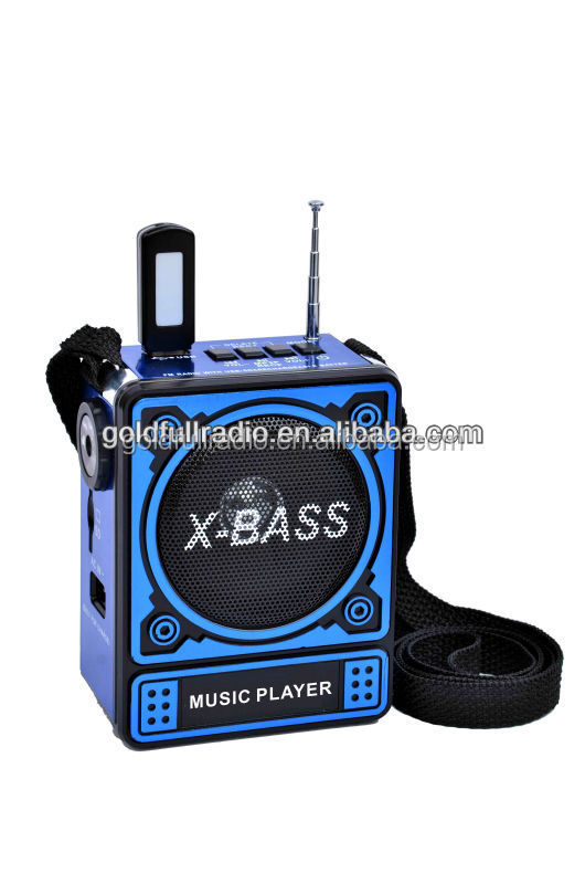 Alibaba High Quality Home Digital fm Portable Mini x-Bass Radio mp3 sd