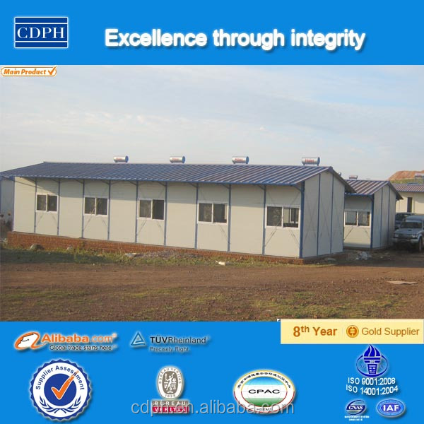 cheap prefab houses for Labour Accommodation construction site labor camp building