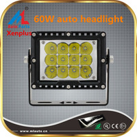 Headlight manufacturers car auto accessories 60w high quality led light kit for offroad trucks boat jeep UTV