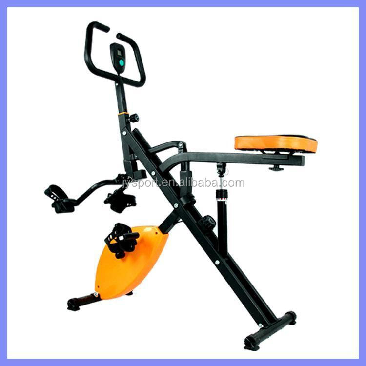 dual bike/exercise bike trainer for arms and legs body fitness horse rider