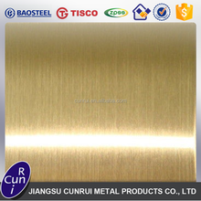 High Qaulity Rose Gold Hairline Stainless Steel Sheet Best Price