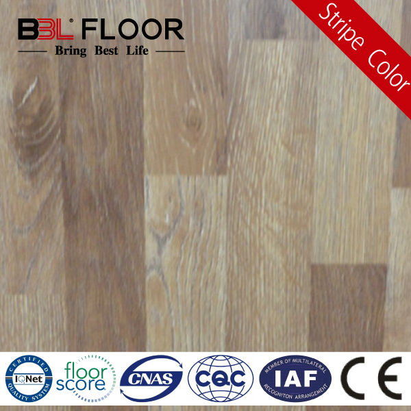 8mm Thickness AC3 Middle Embossed Cheap Stripe Parquet Flooring 83308