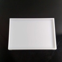 Acrylic white saucer tray & a series of hotel equipments