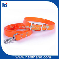 Assorted Plastic Dog Collar and Leash
