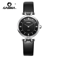 Black sand blasted surface Japan quartz watches for women
