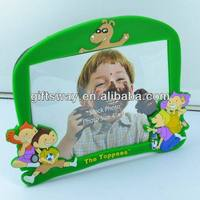 Good craft-eco-friendly 3D soft pvc photo frame for decoration