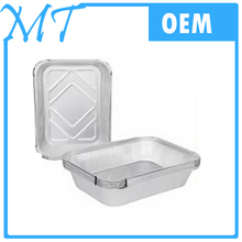 china suppliers wenzhou smoothwall disposable aluminum foil container / tray /lunch box for food packaging