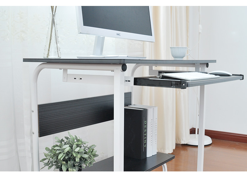 Simple computer desk desktop home assembly multi - functional desk bedroom computer
