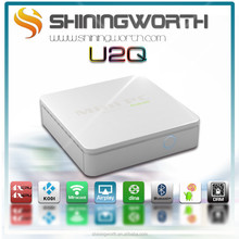 Shiningworth OEM/ODM Smallest Internet TV BOX 1G/8G android 4.4 kitkat Quad-core Amlogic S805 MINI PC with built-in WIFI