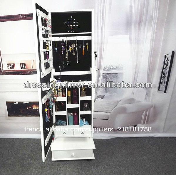 stand pour le plancher miroirs modernes meubles en miroir armoire bijoux commode id de produit. Black Bedroom Furniture Sets. Home Design Ideas