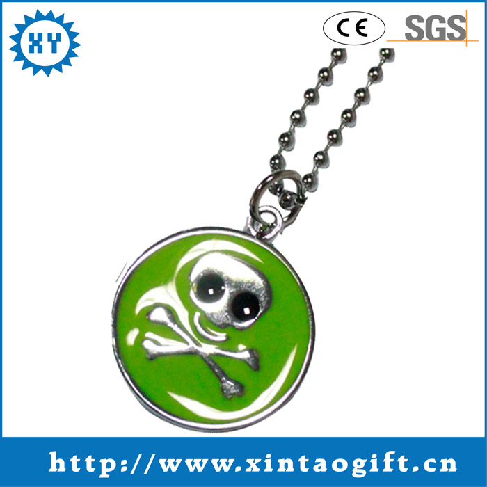 Custom made souvenir dog tag for kids