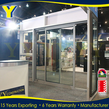 Double glazing residential and commercial aluminium exterior single panel sliding door