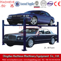4 post Automatic car parking Lift/ parking elevator for home garage