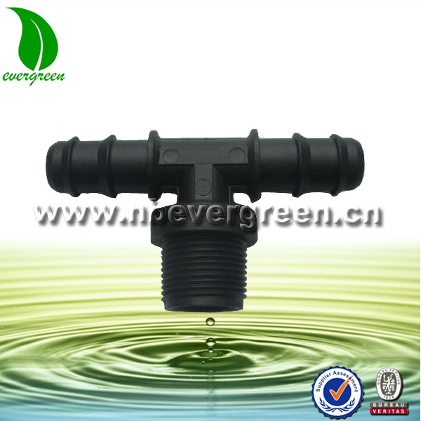 F8208-007 Irrigation system drip tape male tee