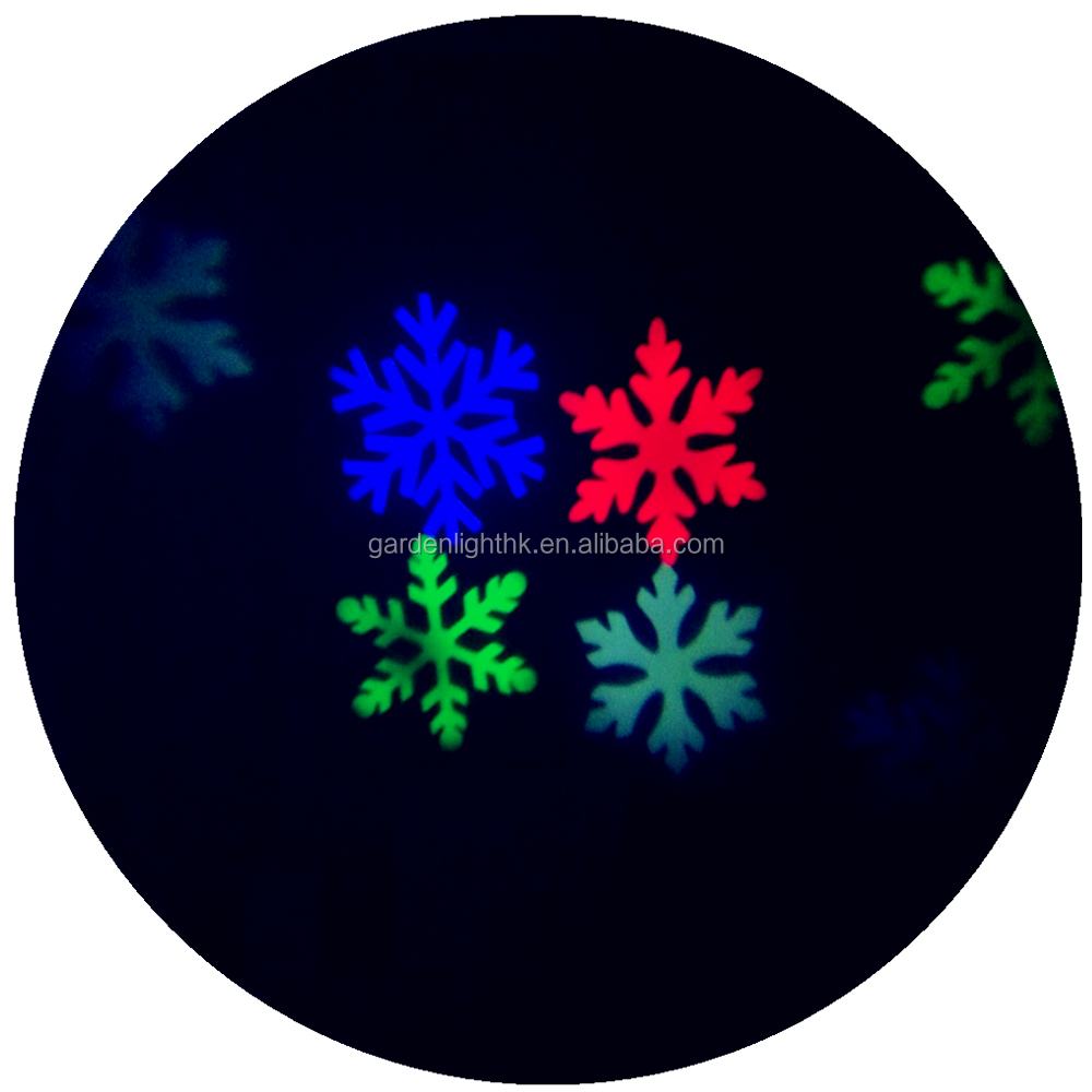 Manufacturer High Power Motion LED Snowflake Christmas Projector Outdoor
