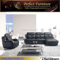 Luxury high quality furniture leather sofa brands PFS5746