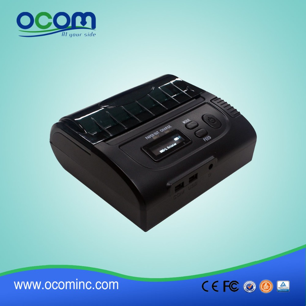 OCPP-M083 2016 New product 80mm bluetooth mobile thermal printer