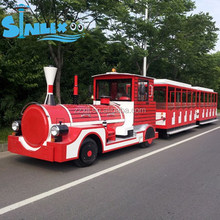 china amusement rides trackless train/diesel trackless train for amusement park/india tourist train