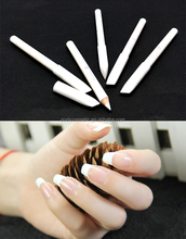 private label white nail polish pencil nail wooden pencil with your logo for nail art makeup