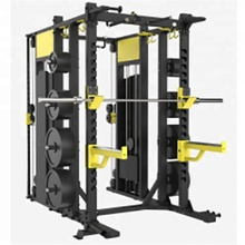 Top selling fitness hammer strength smith machine manual equipment deep squat rack