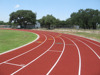 School & Stadium outdoor sport polyurethane athletic rubber running track synthetic running track surface race flooring material