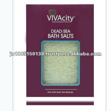 Unscented White Crystal Dead Sea Salt