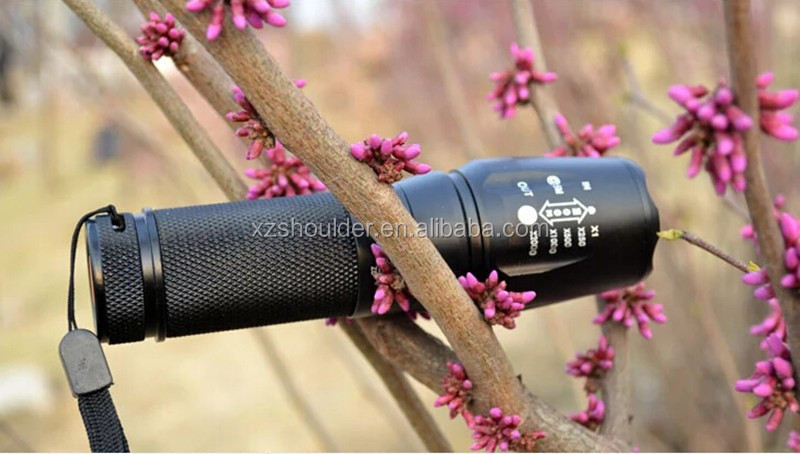 Upgrade High power UltraFire L2 2000 LM torch light Zoomable Waterproof Fashion Handy Convenient LED Flashlight