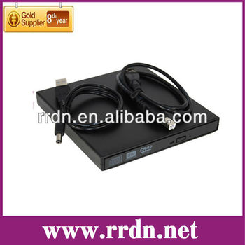Laptop External DVD Writer/DVD Burner Drive (8X DVD-R),Support to Plug&Play