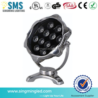 IP68 Stainless Steel 12W Underwater Pool Light LED