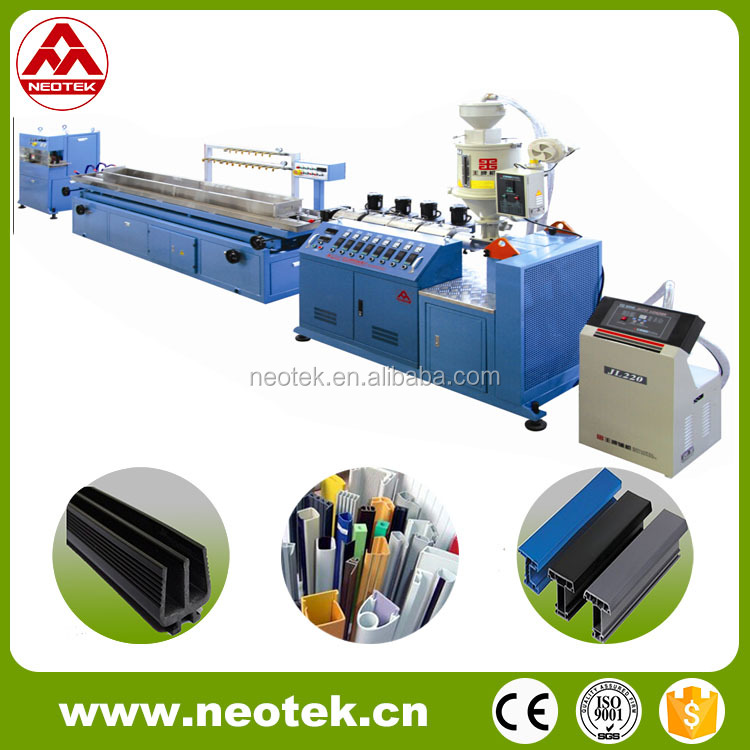 PP/PE/PVC/PC/ABS Small Profile Extrusion Line