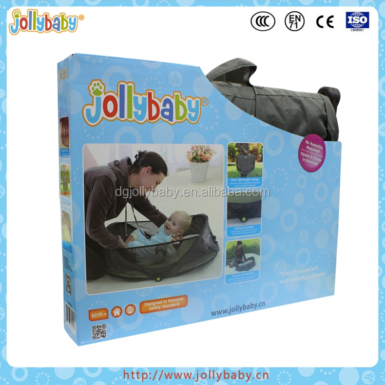 Dongguan Jollybaby Fold And Go Baby Travel Bed