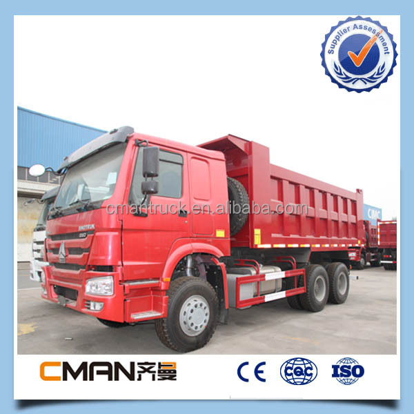 sinotruk howo 6x4 336hp left hand drive widely used tipper trucks for sale