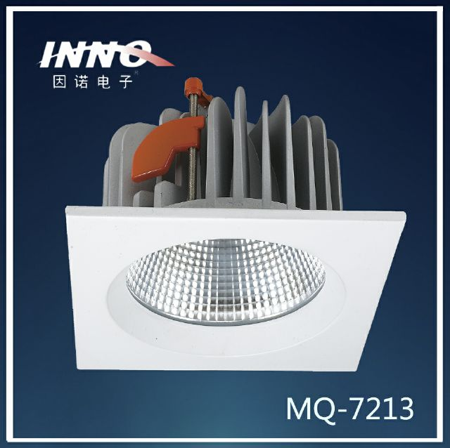 Available 10w 15w 20w 35w dimmable 40D angle square led down light
