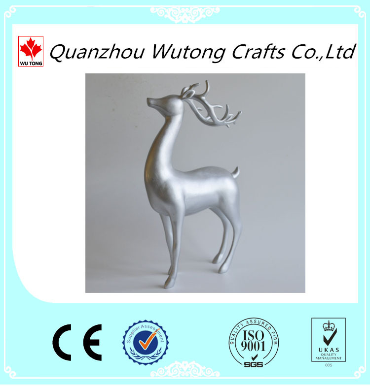 table decoration animal small resin deer figurines