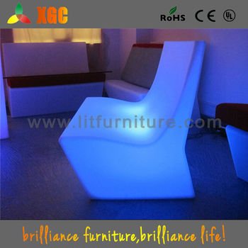 led lit furniture/led furniture lighting for household/bar/night club