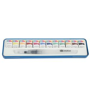 8colors Dry Painting Trees Watercolor Paint with Crayon Paint Set ,damp-dry watercolor