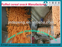 Puffed cereal bar /corn chip /rice stick snack machinery