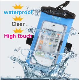 2015 For All Smart Phone Colorful PVC Bag Waterproof Phone Cases