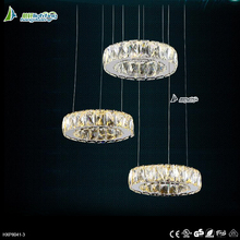 Hanging Modern Luxury chandelier crystals pendant light