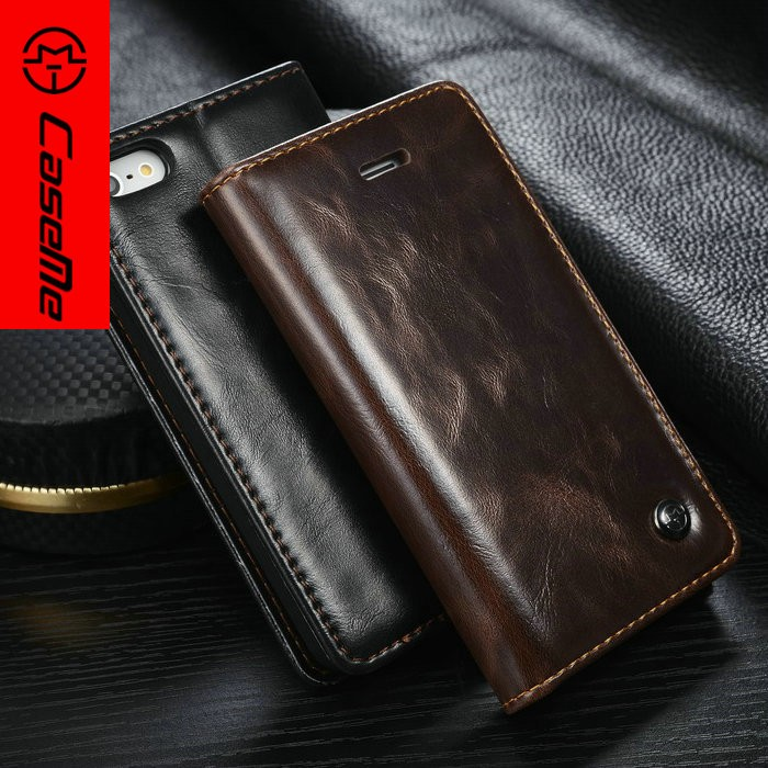 for iphone se case leather wallet flip cover with card slots, mobile phone case for iphone se