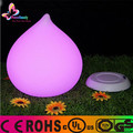 Peach shape plastic colorful lamp table lamp with led light