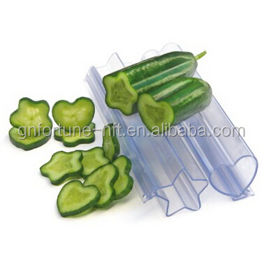 Heart Shaped Molds for Growing Vegetables and Fruits, Veggie Molds